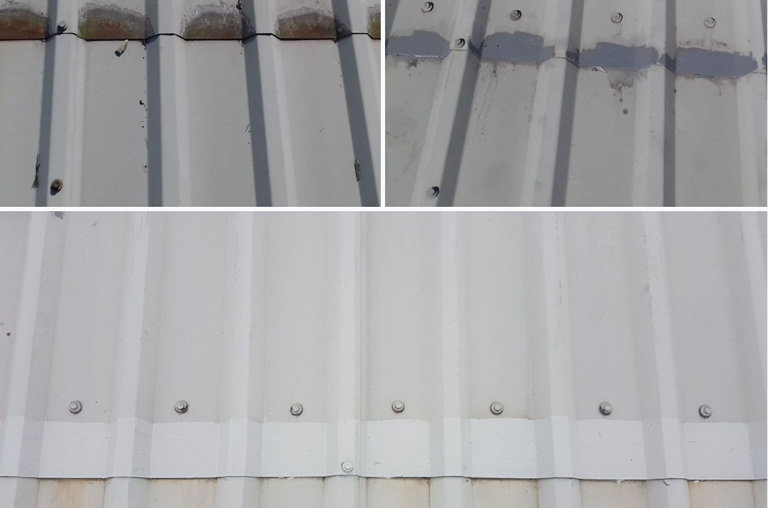 Industrial Roofing Corrosion Treatment
